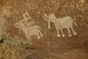 800px-Rock_painting,_Bhimbetka,_Raisen_district,_MP