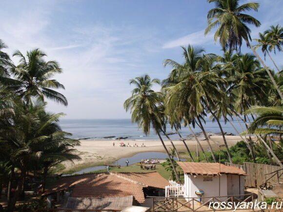 Пляж Вагатор Гоа 32