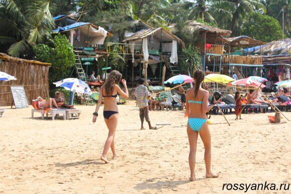 Пляж Анжуна, Гоа 4
