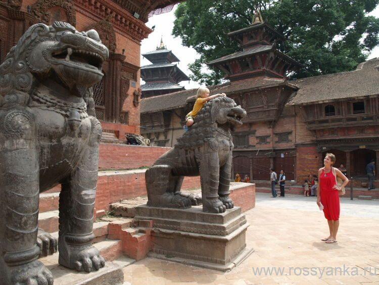 Непал, Дурбар, Катманду 1