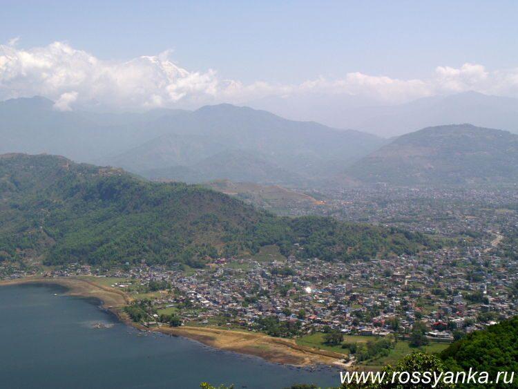Непал, Покхара, ступа Мира 6