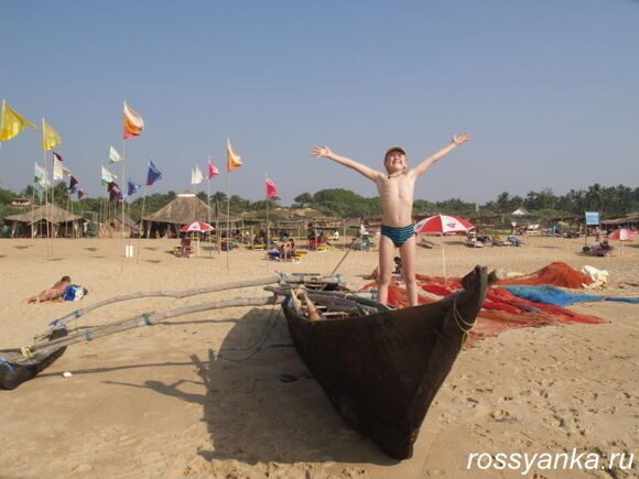 Пляж Кандолим 8