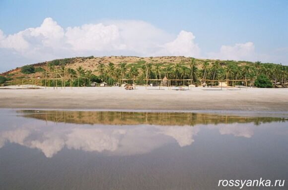 Пляж Мандрем Гоа 2