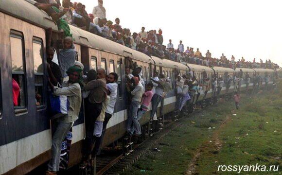 Индия, поезд 2
