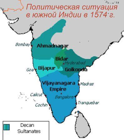 Хампи Карта Индии
